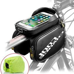 Cool Change Bike Frame Bag Touch Screen | Tough Case | Large