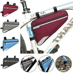 Bike Front Tube Frame Bag Bicycle Cycling Triangle Bag Road