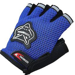 Cloulds_Zone Kids Boys Girls Bike Gloves for Powerlifting, W