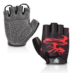 HTZPLOO Bike Gloves Bicycle Gloves Cycling Gloves Mountain B