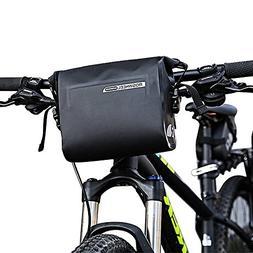 Allnice Bike Handlebar Bag, Waterproof 3L Cycling Bicycle Mo