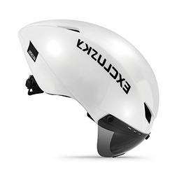 Exclusky Adults Bike Helmet with Shield Visor 56/61cm