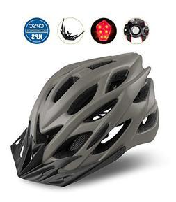Shinmax Bike Helmet, CPSC Certified Adjustable Light Bike He