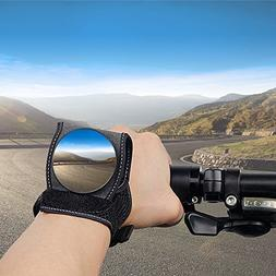Bike Mirrors for Safety Rear View , Adjustable Bicycle Wrist