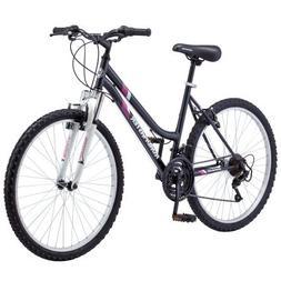 Womens Bike Mountain Alloy Wheels Frame 18 Speed Adjustable