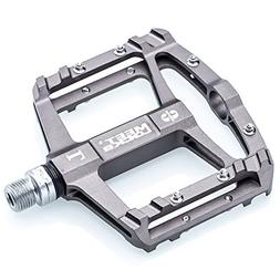 MEETLOCKS Bike Pedal CNC Aluminum Body Cr-Mo Machined 9/16""