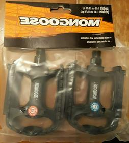 """Mongose Bike Pedals 9/16"""" Pair for One Price"""