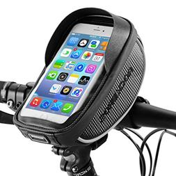 RockBros Bike Phone Bag Waterproof Handlebar Bicycle Phone C