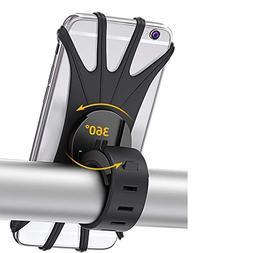 Bike Phone Mount, Bovon 360°Rotation Silicone Bicycle Phone