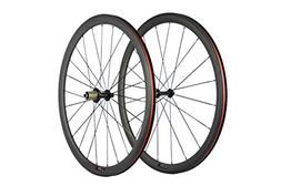 SunRise Bike 1 Pair of Road Bike Carbon 700C Clincher Wheels