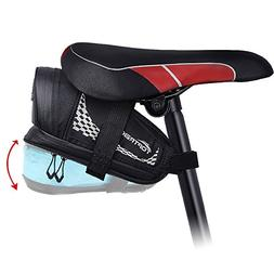 TOPTREK Bike Saddle Bag Outdoor Water Resistant Bike Bags un