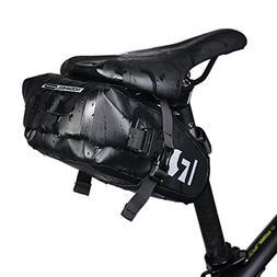 ArcEnCiel Bike Saddle Bag Waterproof Bicycle Strap-On Seat P