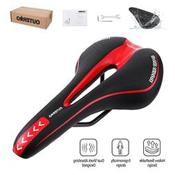 OUTERDO Bike Saddle Mountain Bike Seat Breathable Comfortabl