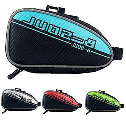 CROMI Bike Seat Packs Tail Pouch Wedge Bag Cycling, Blue