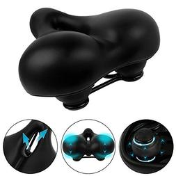 GT ROAD Bike Seat by Dual Shock Absorbing Rubber Ball Design