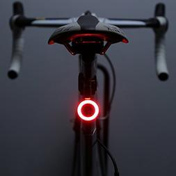 OUTERDO Bike Taillight, Rear Light USB Rechargeable 70 Lumen