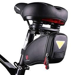 camgo Bike Wedge Saddle Bag, Mountain Road Bike Seat Pack Ba