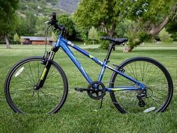 "Ryda Bikes Alpine - 24"" Blue Youth Unisex Mountain Bike - 8"