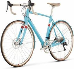 Raleigh Bikes Clubman Carbon Road Bike, Blue, 58 cm/Large