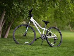 "Ryda Bikes Moab - 24"" White Youth Unisex Mountain Bike - 8 S"
