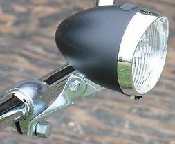 Black 3 LED HEAD LIGHT Vintage Schwinn Stingray Bicycle Crui