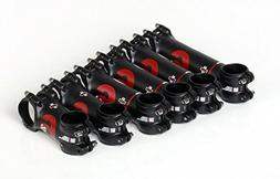 Black 87g UNO AS025 Six Super Litght Road Bike Stem Black /