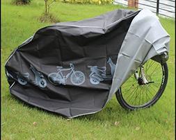 Koson-Man Black Waterproof Dustproof Bicycle Cover