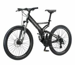 Mongoose Blackcomb Mountain Bike, 26-inch wheels, 24 speeds,
