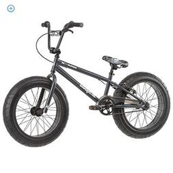 "20"" Mongoose BMaX All-Terrain Fat Tire Mountain Bike, Black/"