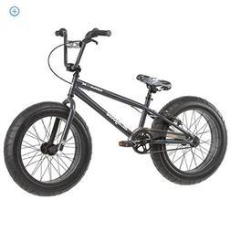 "20"" Mongoose BMaX All-Terrain Fat Tire Mountain Bike, Black/"