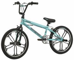 Mongoose  BMX Bike Craze Freestyle 20-inch Mag Wheels Teal