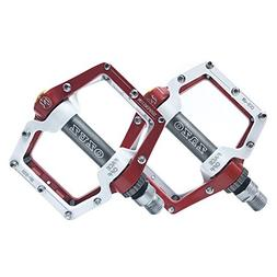 OZUZ BMX MTB Mountain Bike Road Bicycle Aluminum Pedals Thre