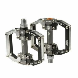 ROCKBROS BMX MTB Road Bike Pedals Aluminum Alloy Sealed Bear