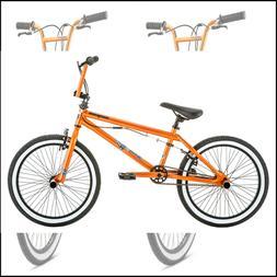 Bmx Style Kids Bike 20 Inch Wheels Sturdy Frame 4 Freestyle