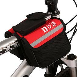 BOI bicycle beam package Bike Frame Rack Tube Bag,cycling ba