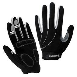 Boodun Biking Gloves,Wearproof Cycling Gloves Full Finger An