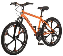 Boys Mountain Bike Mag Wheel Bicycle 24 Inch Steel Frame 21