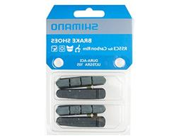 SHIMANO 2 Pairs Brake Pads for Carbon Rim R55C3 Dura Ace/Ult