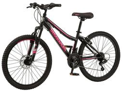 Female Mongoose Excursion Mountain Bike 24 Inch Wheels, 21 S