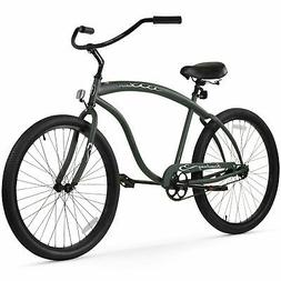 "Firmstrong Bruiser Prestige Single Speed Men's 26"" Beach Cru"