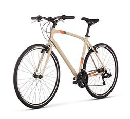 "Raleigh Cadent 1 Urban Fitness Bike, 17"" /MD Frame, Tan, 17"""