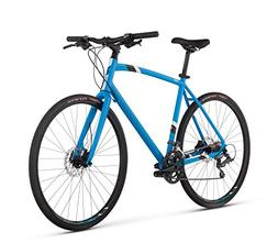 "RALEIGH Bikes Cadent 3 Urban Fitness Bike, 15"" Frame, Blue,"