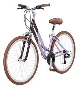 Schwinn Capitol Women's Hybrid Bicycle Lavender 700c Wheel,