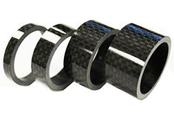 """Winicebikes Carbon Fiber Bicycle Headset Spacers 1-1/8"""" Set"""