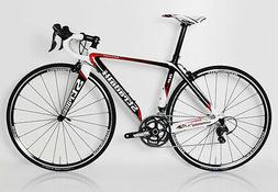 STRADALLI CARBON FIBER ROAD BIKE BICYCLE 56CM SHIMANO ULTEGR