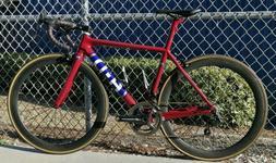 Carbon Fiber Road Bike w/Full Campy Record, Power Meter and