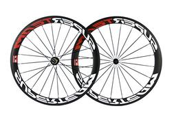 Superteam Carbon Fiber Road Bike Wheels 700C Clincher Wheels