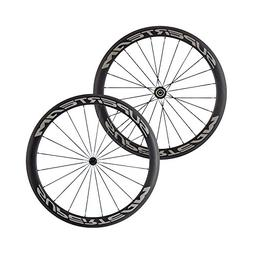 Full Carbon Fiber Road Bike Wheels 700C Clincher Wheelset 50