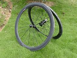 Full Carbon 3K Matt Road Bike Tubular Wheel Rim 50mm Basalt