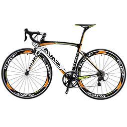 SAVADECK Carbon Road Bike, Warwinds3.0 700C Carbon Fiber Roa